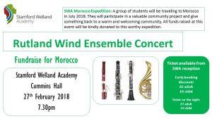 Rutland Wind Ensemble Concert 27th Feb
